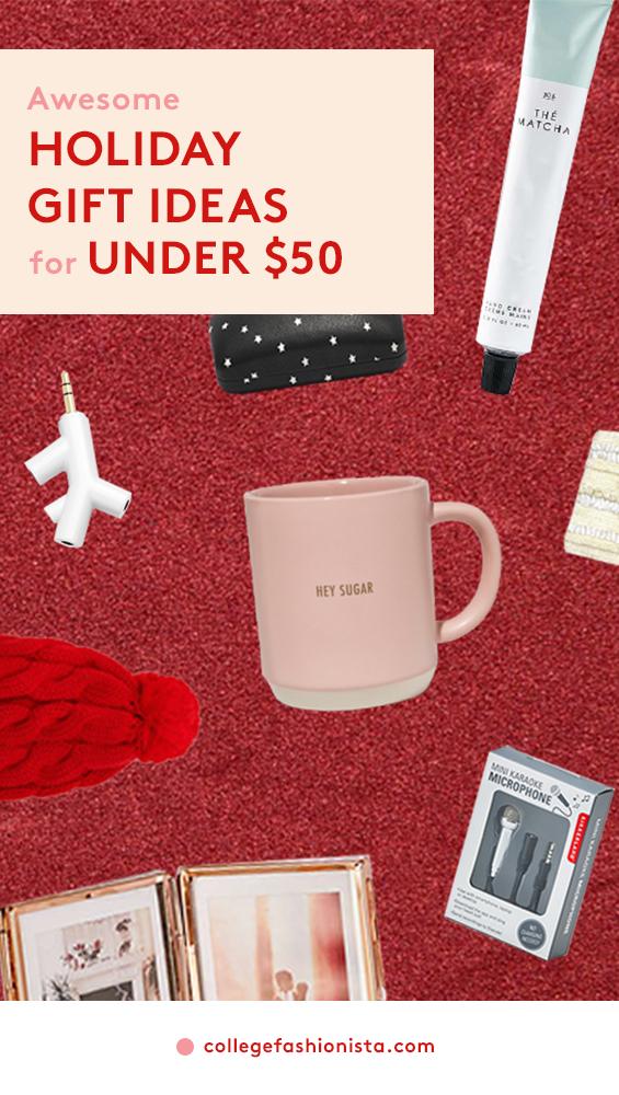 Christmas gift ideas for family under $50