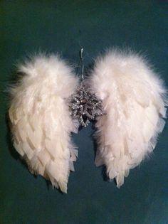 DIY Angel wings Christmas ornament | angels wings | Pinterest ...