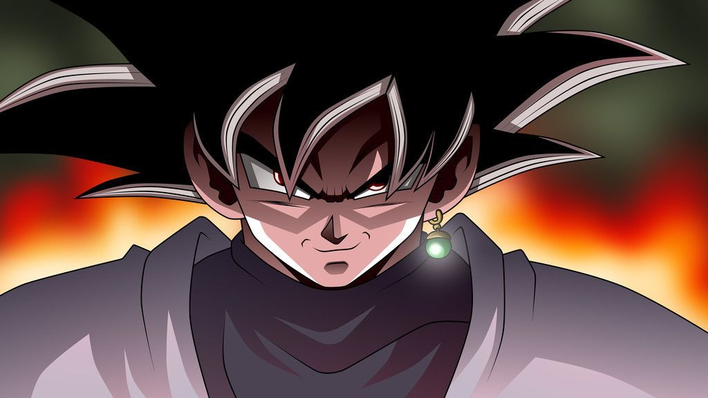 Black goku, dragon ball super, 8k wallpaper Goku black