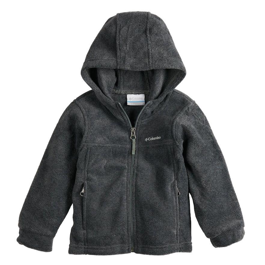 adabf95b7 Toddler Boy Columbia Fleece Hooded Zip Midweight Jacket