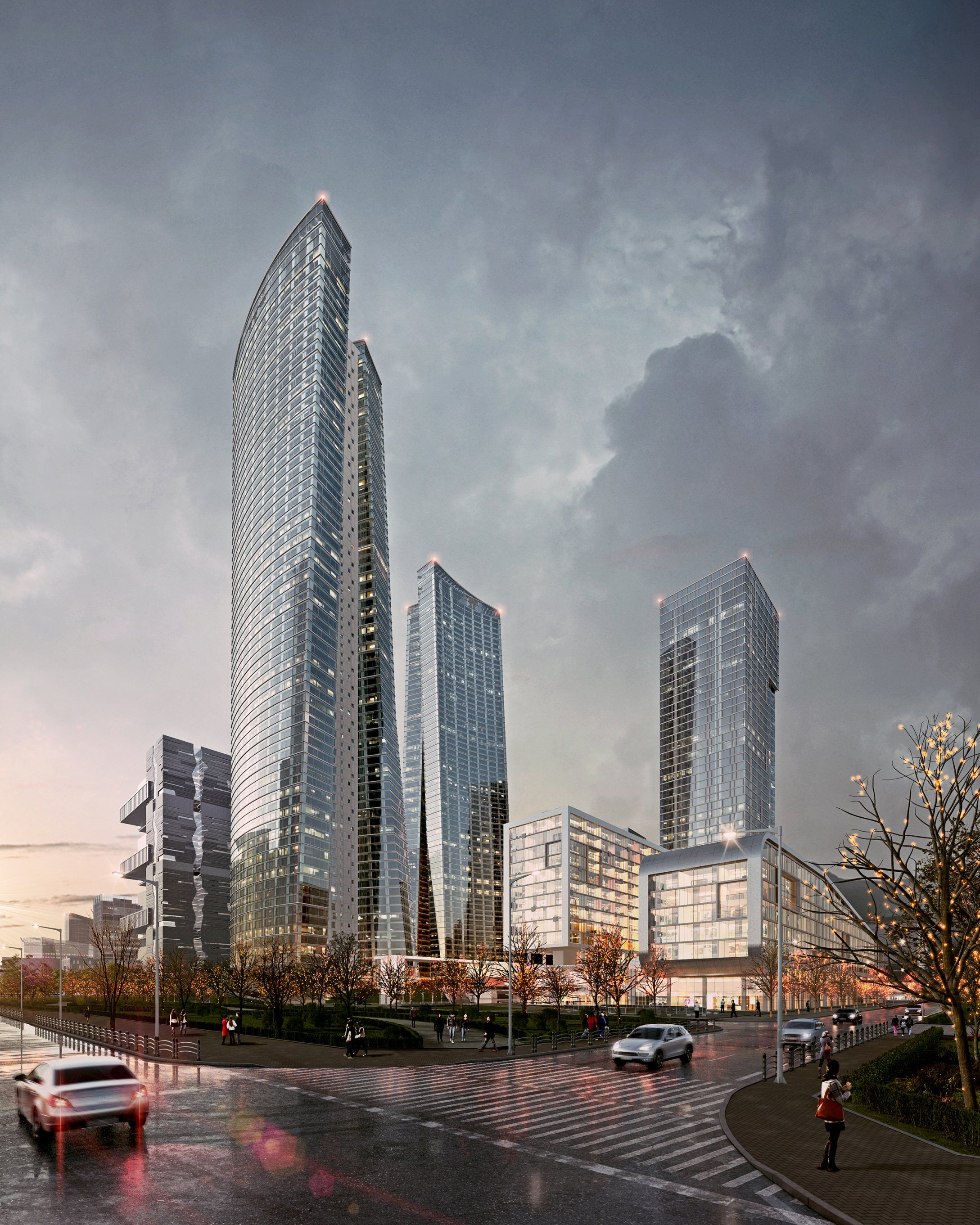 http://www.evermotion.org/vbulletin/showthread.php?101257-my-work |  Architecture rendering, Skyscraper architecture, Architecture visualization