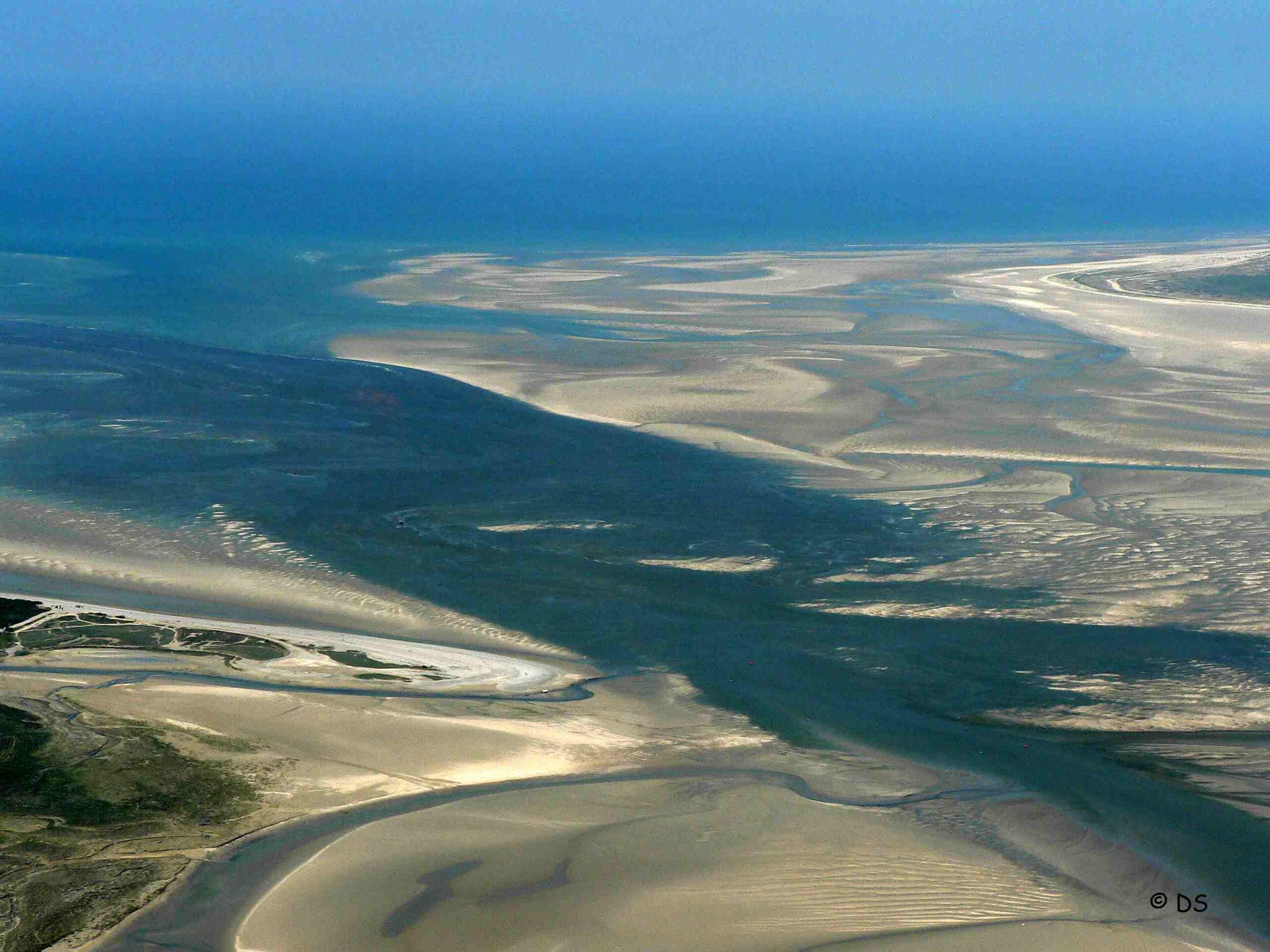 Baie de Somme La Baie de Somme vue du ciel France Voyage