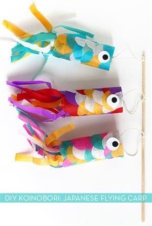 Paper Japanese Flying Carp
