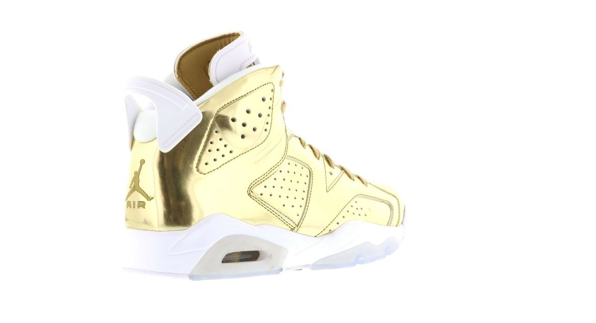 2b47b439171acf ... authentic Jordan shoes on StockX including the Jordan 6 Retro Pinnacle  Metallic Gold and thousands of other sneakers with price data and release  dates.
