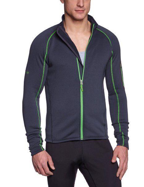 Amazon Com Marmot Men S Power Stretch Jacket Dark Granite Large Clothing Jackets Fashion Mens Jackets