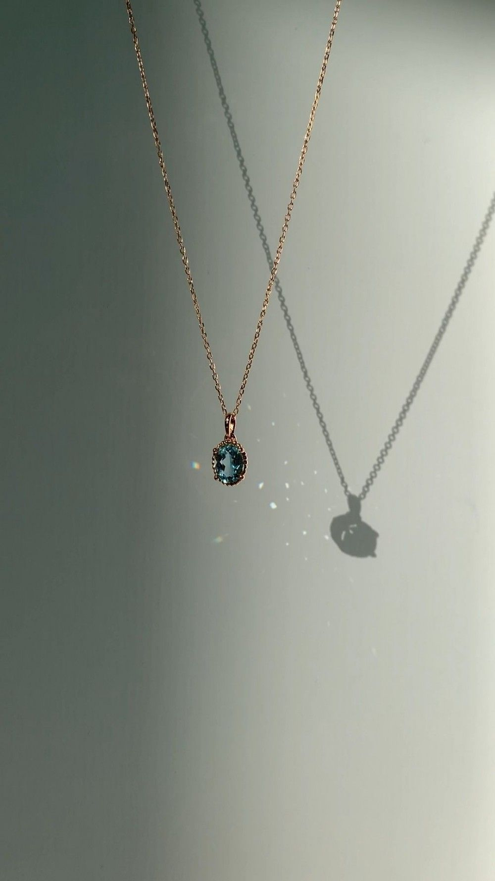 Precioso collar de aguamarina – Precioso collar de aguamarina …