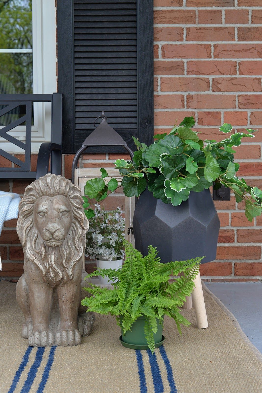 Using Artificial Plants For Your Outdoor Decor Front Porch