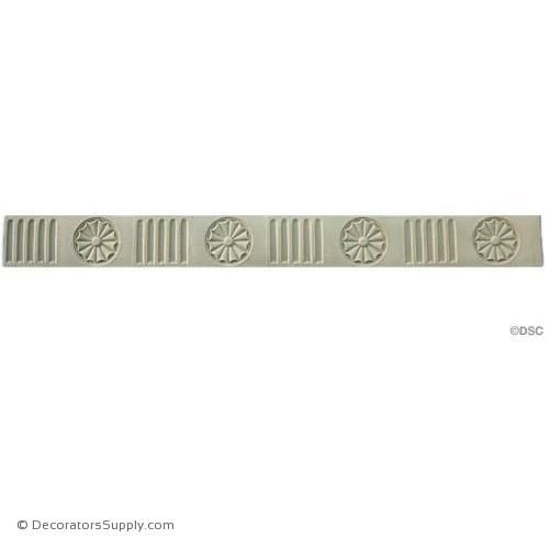 Fluted - Colonial 1 3/4H - 1/8Relief