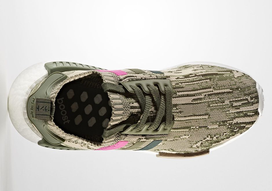 ec2f097f5 adidas NMD R1 Primeknit Camo Pink BY9864