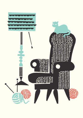 """Love their Illustrations! » """"Laiskanlinna"""" design by Kristiina Haapalainen & Sami Vähä-Aho, Polkka Jam 2012. » polkajam.com"""