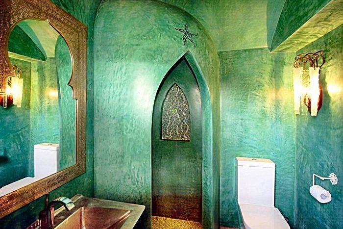 Scegliere il rivestimento per il bagno il tadelakt cos 39 for Arredamento stile marocco