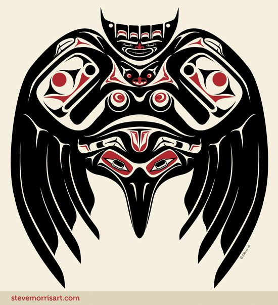 raven steve morris art inuit tlingit haida more at fosterginger pinterest art. Black Bedroom Furniture Sets. Home Design Ideas