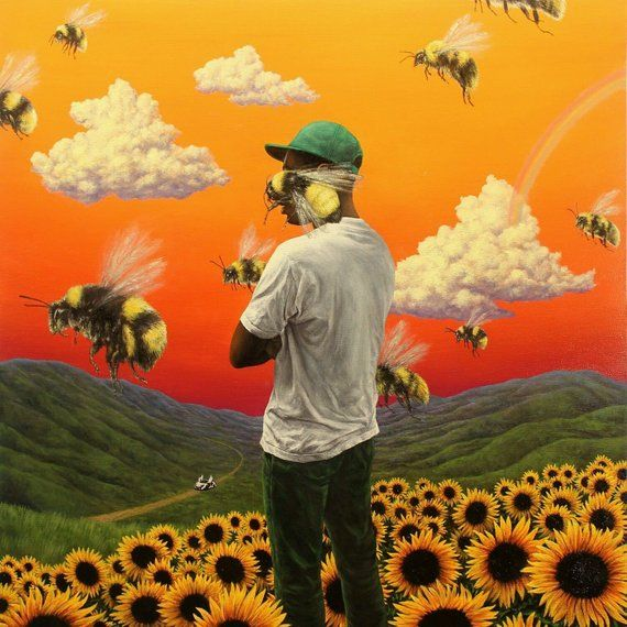 Tyler The Creator Flower Boy Poster Music Album Cover Art