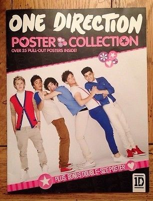 1d Poster One Direction Collection Book 25 Pull Out Posters Book 2 One Direction Official Books One Direction