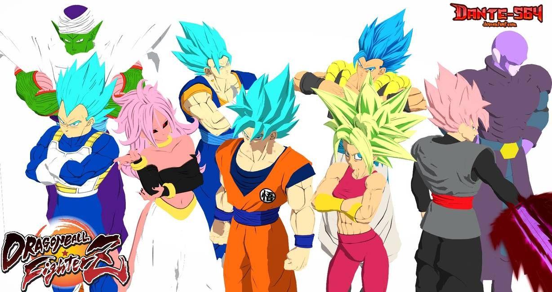 My Mains In Fighterz By Dante 564 On Deviantart Dragon Ball Goku Dragon Ball Dragon Ball Z