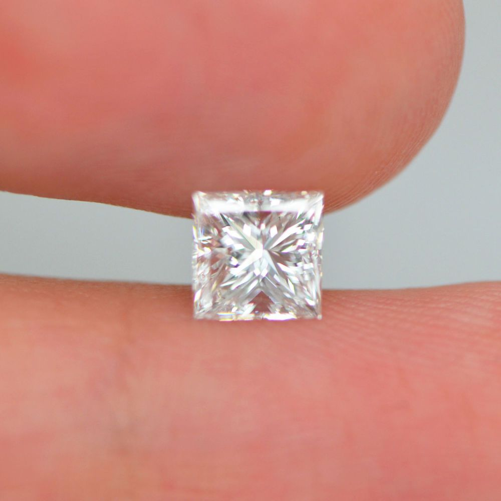 Princess cut EYE CLEAN D/VS2 Enhanced Loose Natural Diamond For ...