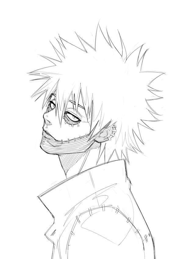Dabi By Alex Malveda On Deviantart Anime Drawings Sketches Anime Boy Sketch Anime Sketch