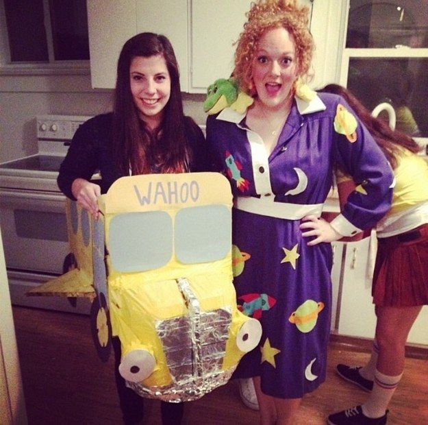 Ms Frizzle and the Magic School Bus Magic school bus, Ms frizzle - halloween costumes 2016 ideas