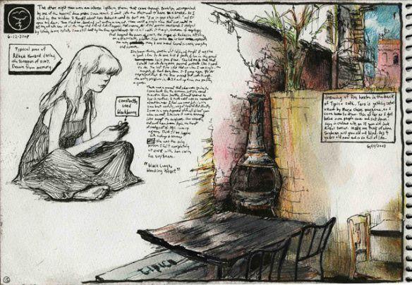Inside the Sketchbook of Esao Andrews | Hi-Fructose Magazine