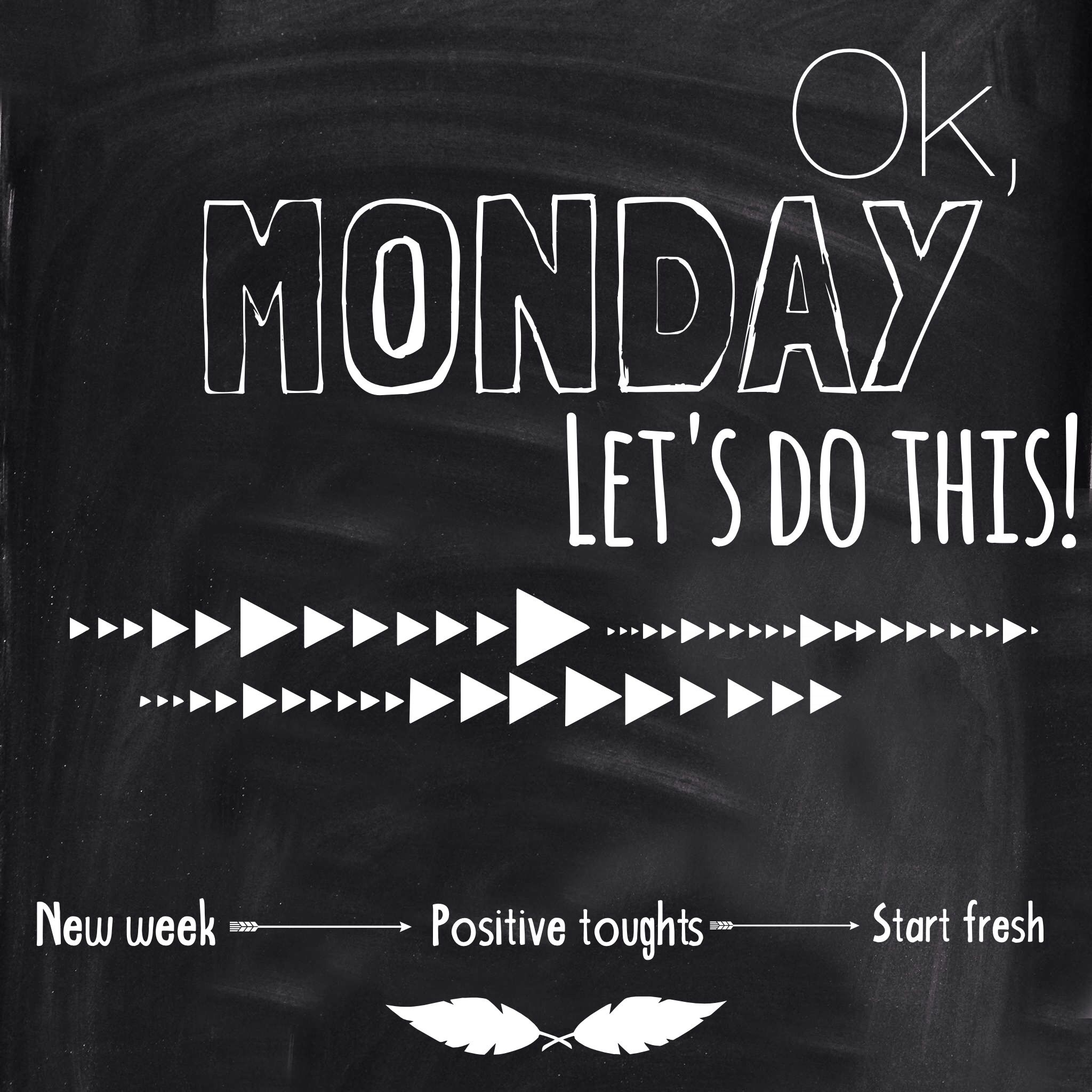 Week Quotes Gorgeous Quote Ok Monday Let's Do This New Week Positive Thou
