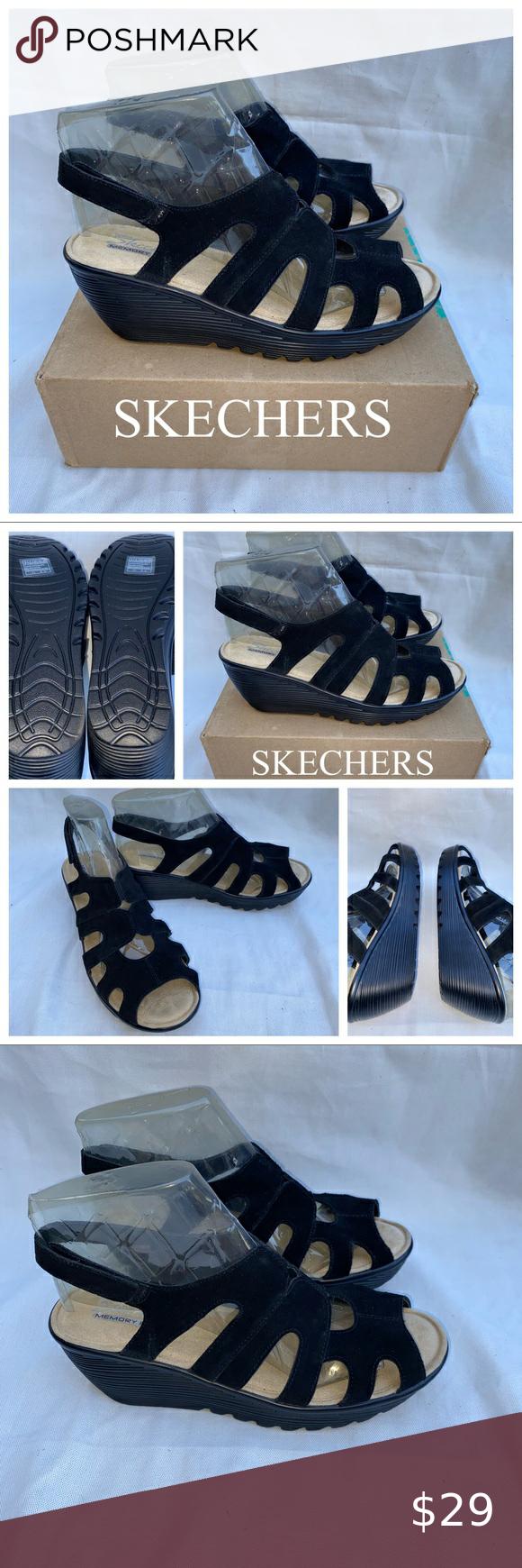 Skechers Parallel Stylin Wedge Sandal