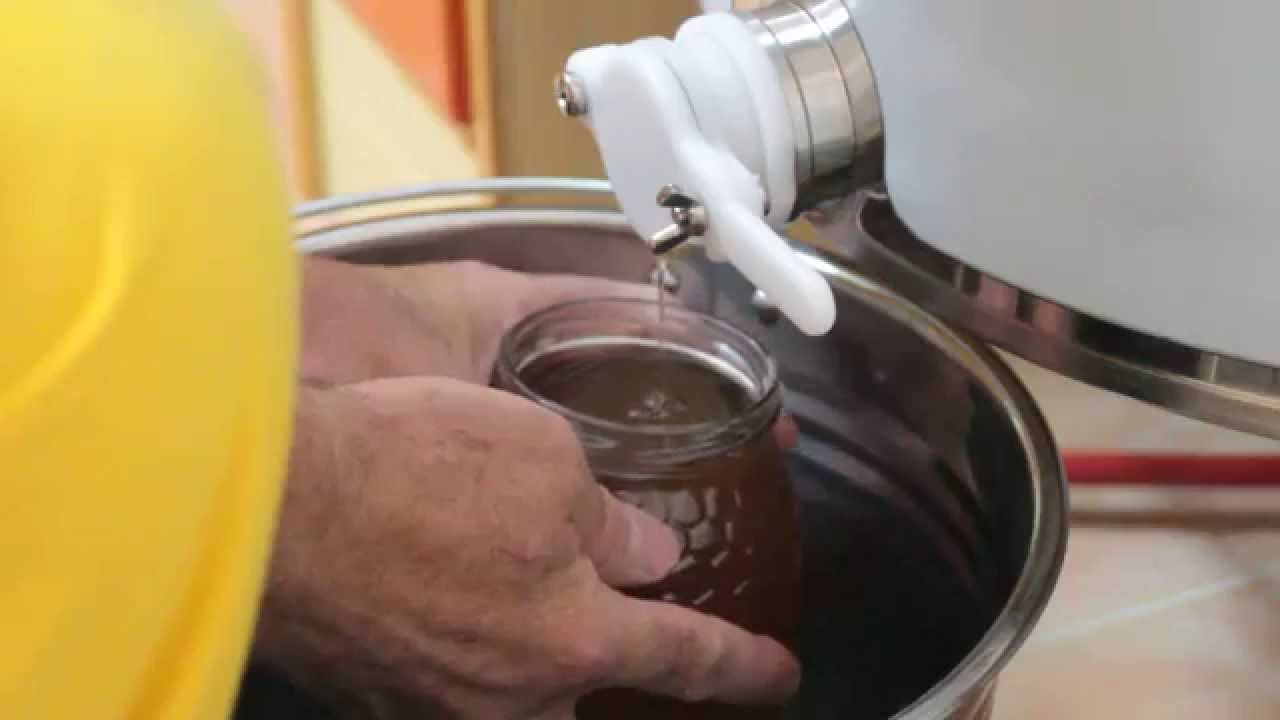 Envasado de miel
