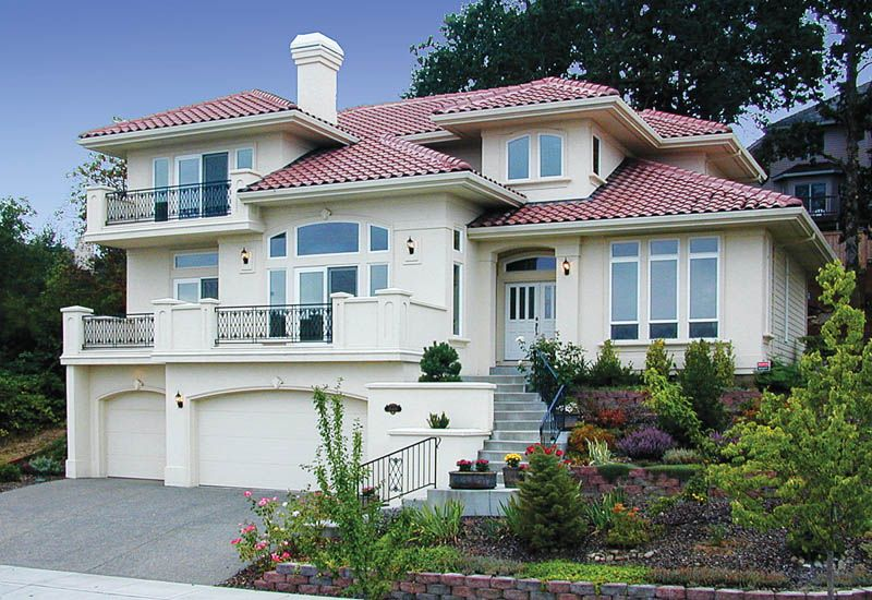 Colfax Place Luxury Home Bungalow House Design Luxury Homes Mediterranean House Plans