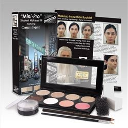 Another option for stage makeup. Student kits can be bought online through vendors like Amazon and if used correctly will last multiple shows!