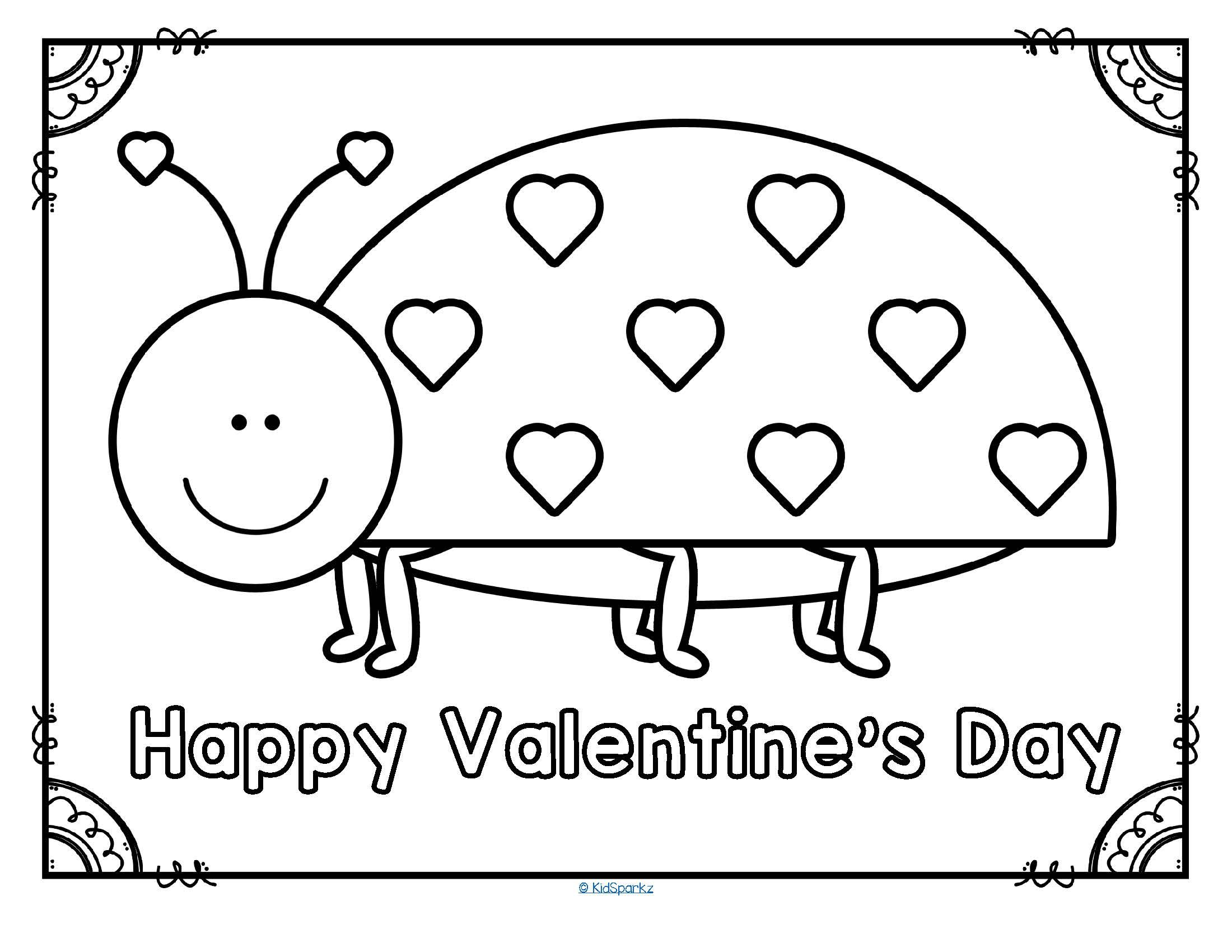 Free Happy Valentine S Day Love Bug Printable Poster