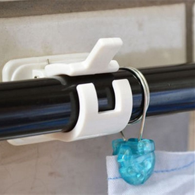 Aliexpress Buy 2pcs Crossbar curtain rods Wall hooks rack