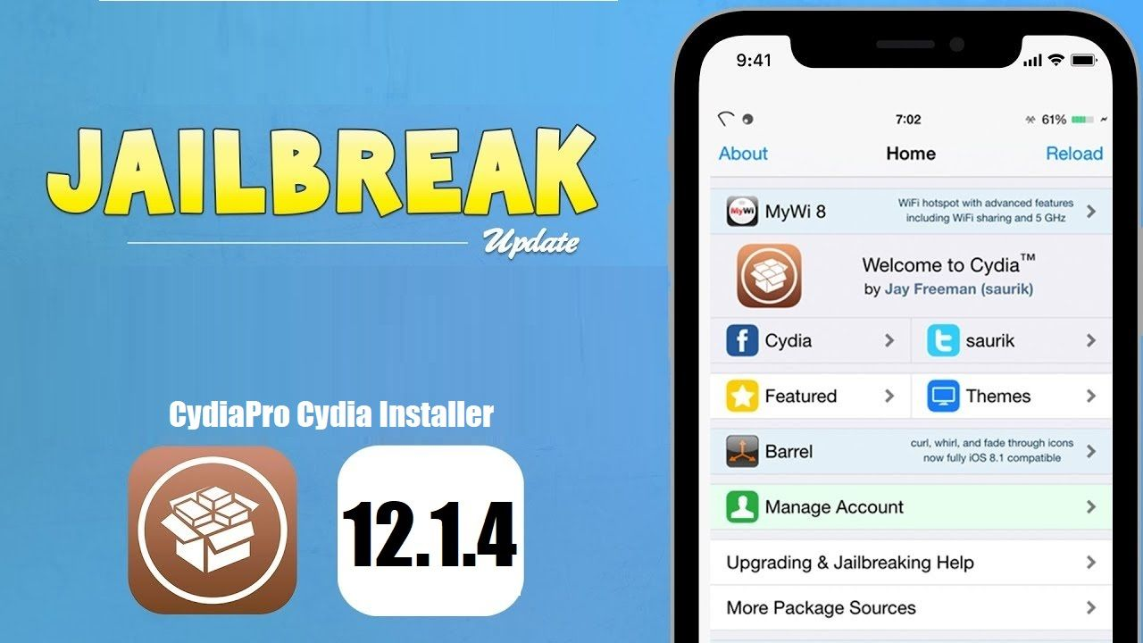 iOS 12.1.4 supports for Cydia with browserbased jailbreak