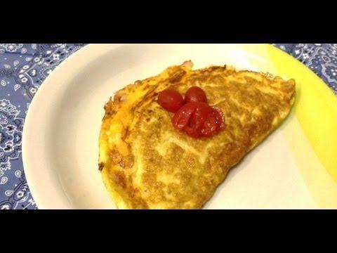 Panela de Barros - Omelete de Queijo e Presunto