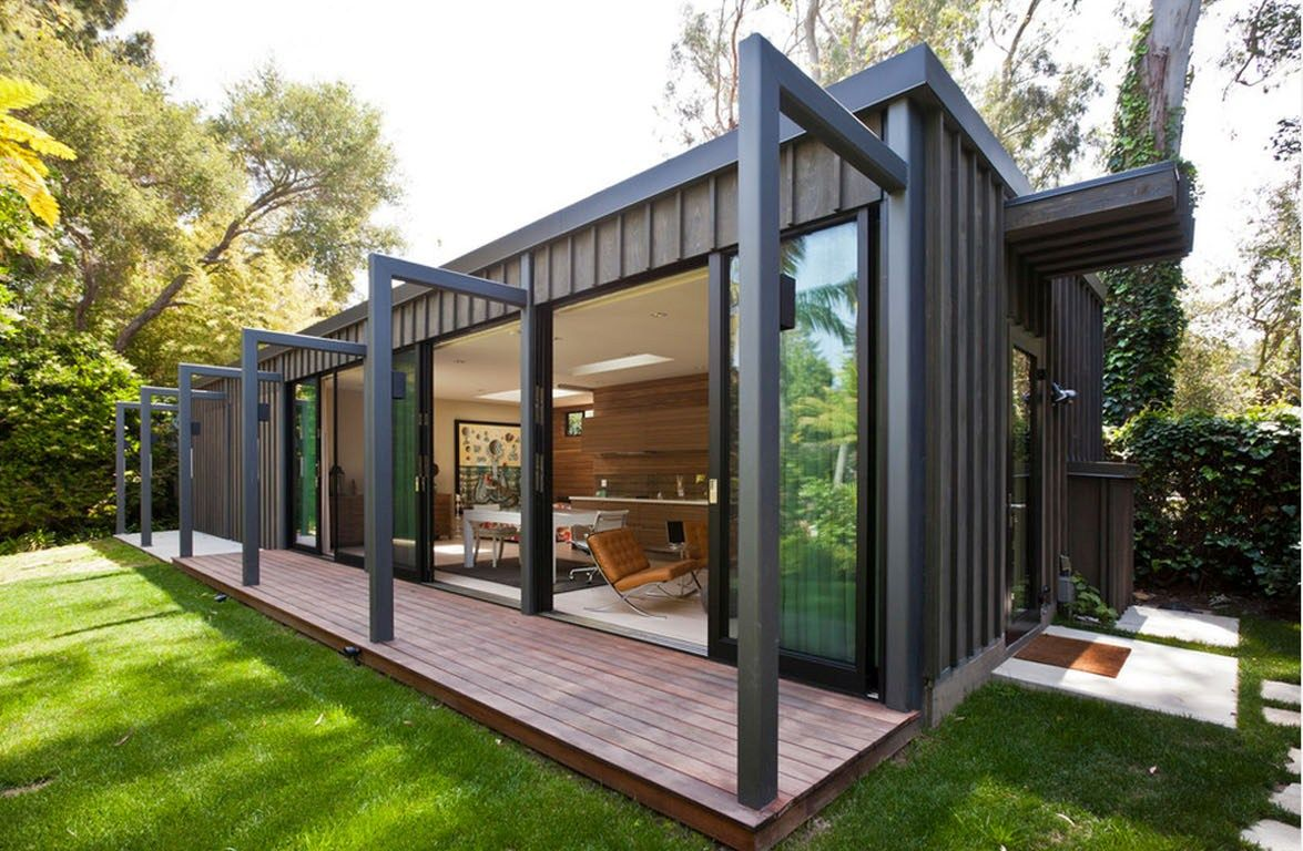 Cargo container homes on pinterest container houses - Prefab Shipping Container Homes Home Decorating Ideas