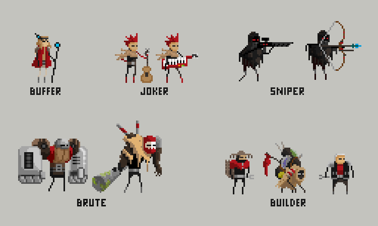 Woo Pixels Characters For Orage See Last Post That Was A Cool Pixel Art Pixel Art Characters Pixel Art Design