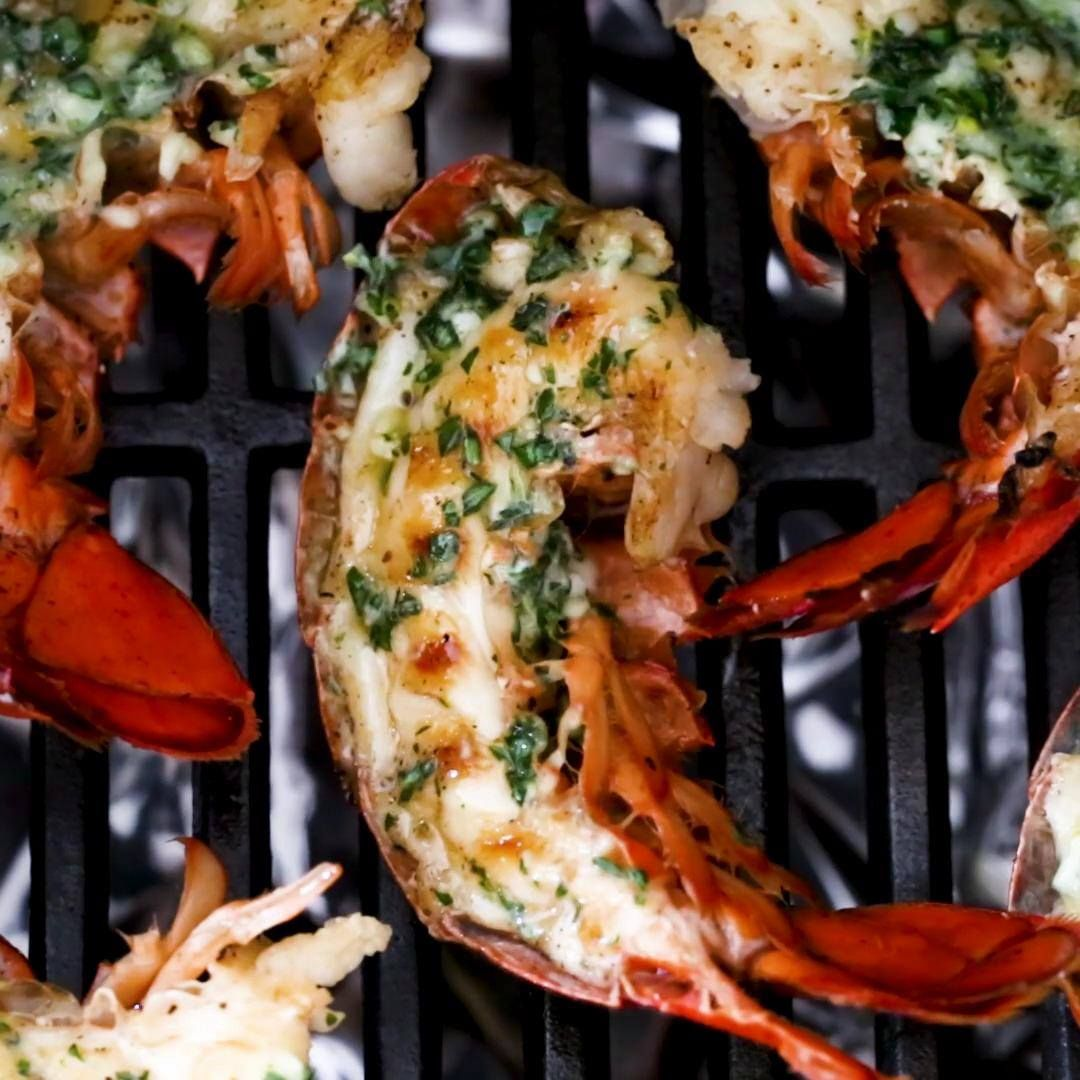 how to grill lobster tails food network
