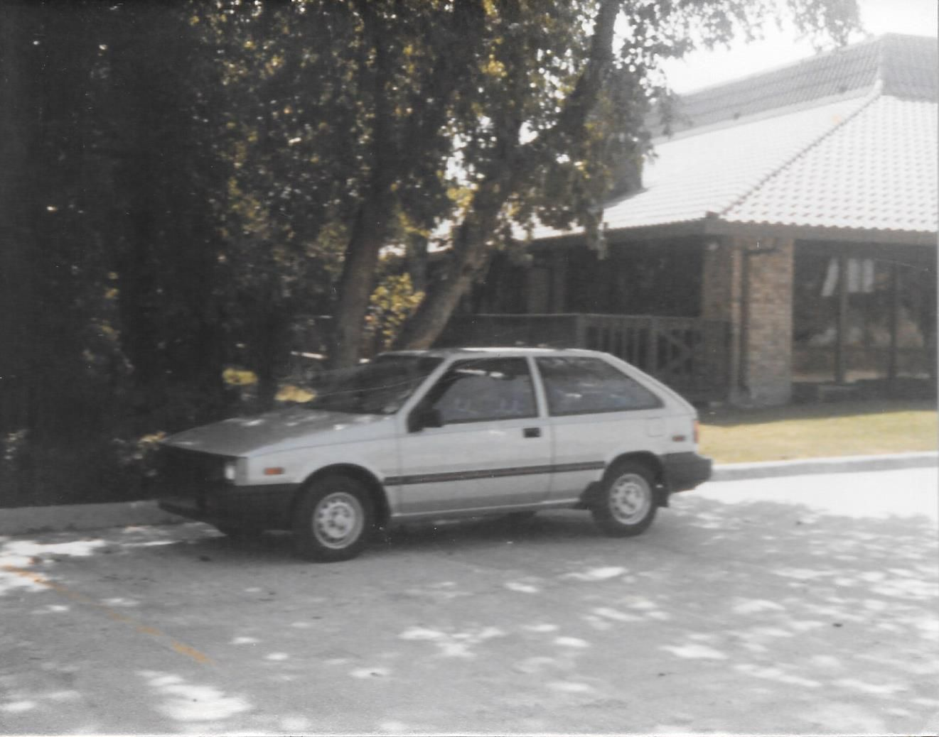 The first year the Hyundai came out, I believe it was 1986. Our car ...