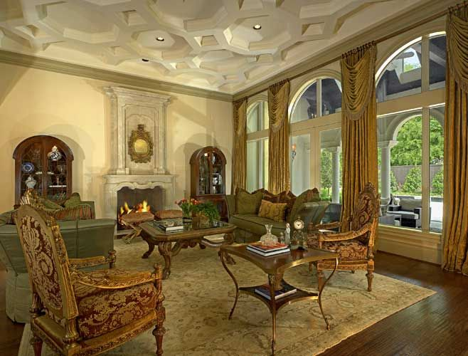 renaissance living room italian renaissance living room with coffered ceiling 10914