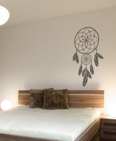 Wandtattoo Wandsticker Wandaufkleber Traumfänger Dreamcatcher - Schonste schlafzimmer