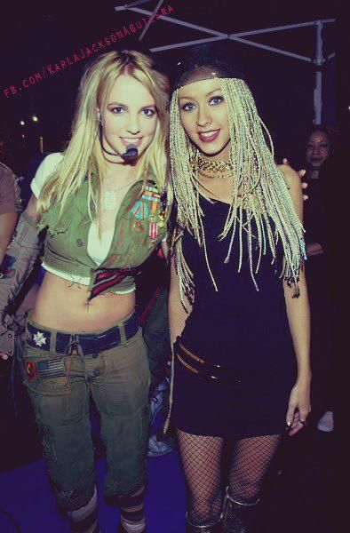 spears christina aguilera Britney