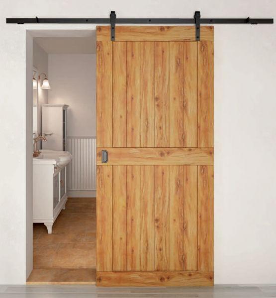 Henderson Rustic 80 Barn Style Sliding Door Gear [www