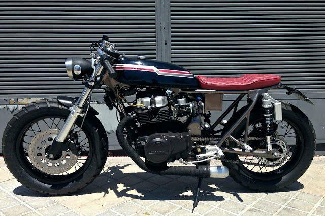 Honda CB450 Cafe Racer by Dogma Motorcycles #caferacer #motos | caferacerpasion.com