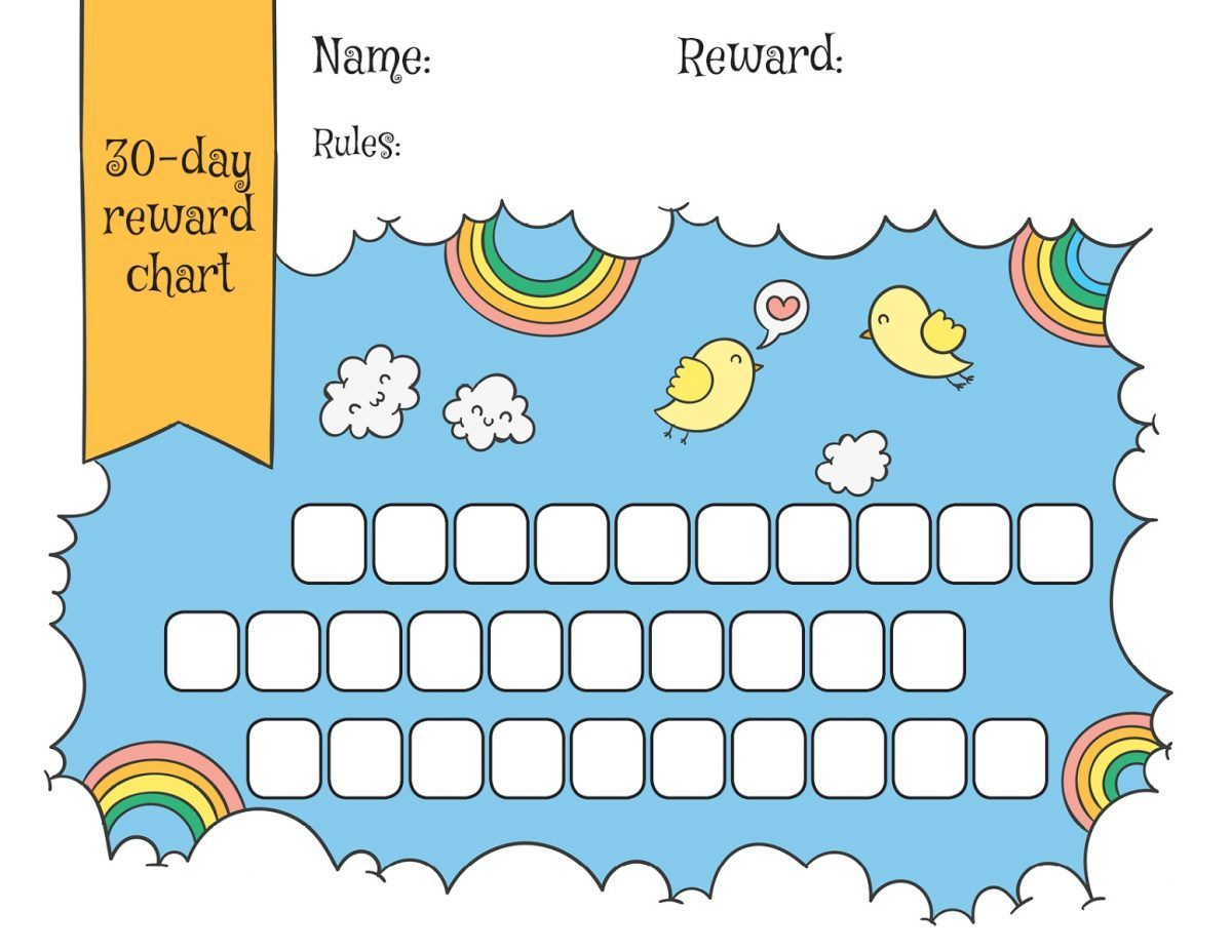 Photo of Childrens Reward Chart | K5 Worksheets
