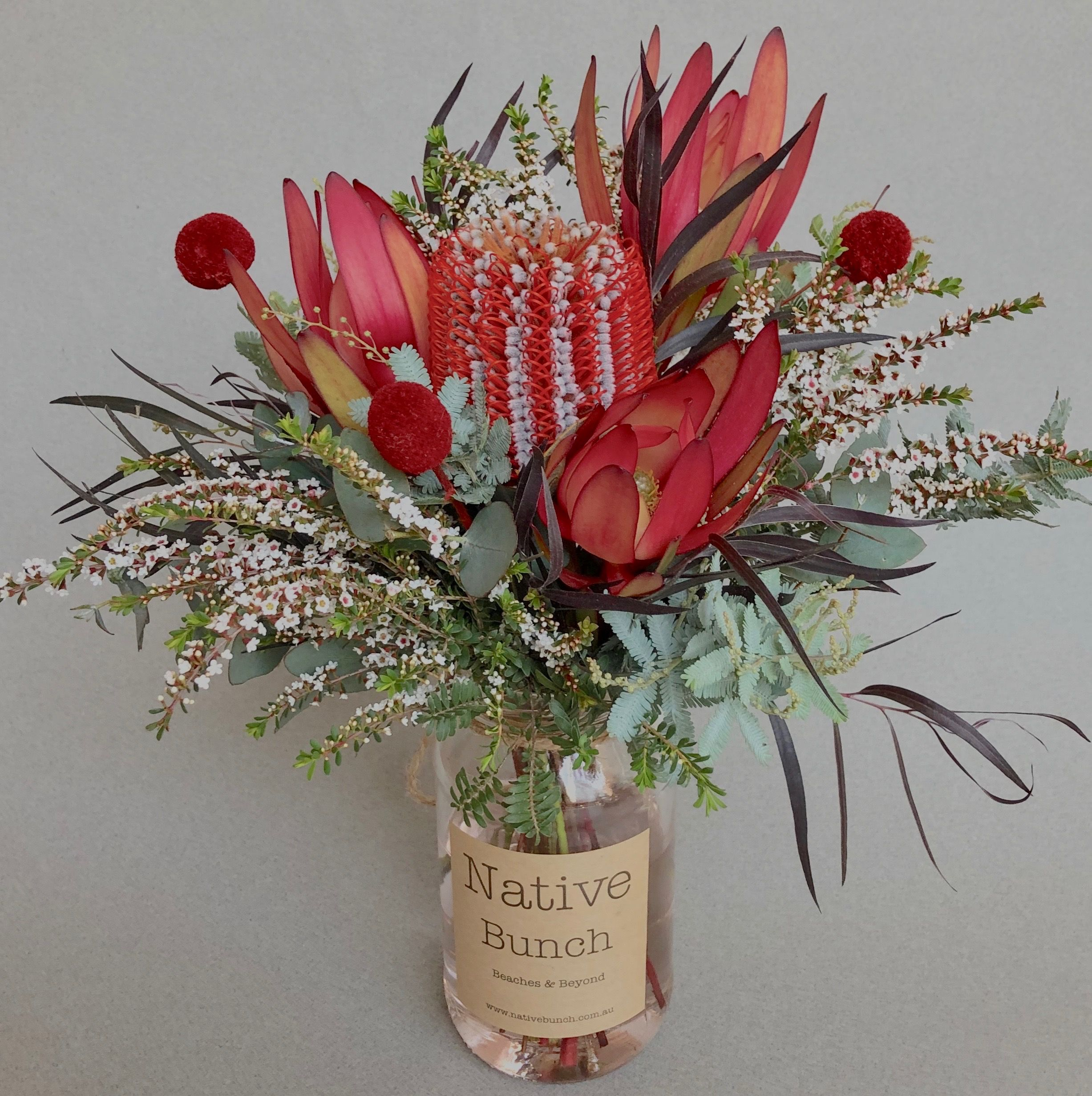 Native Flower Posy Hotel Flowers Flower Delivery Australian Flowers