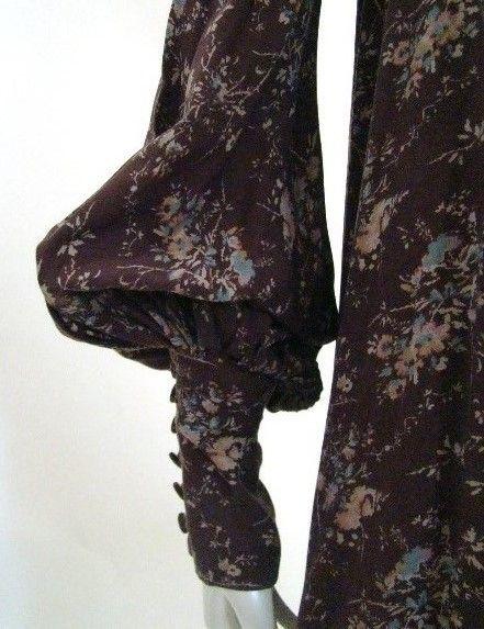 Biba dress sleeve detail