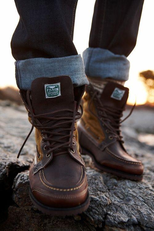bocanci-filson #menboots #boots #leatherboots #menfashion