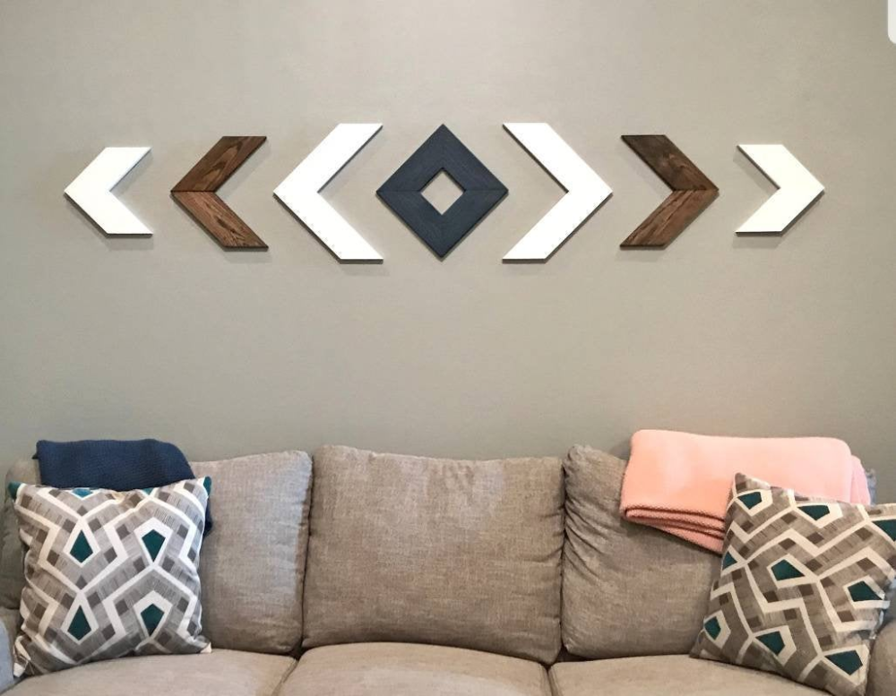 Chevron Wall Art, Chevron Arrow Wall Decor, Wood Chevron Wall Decor, Wood Chevron Set, Chevron Art, Wood Wall Art, Wood Wall Decor