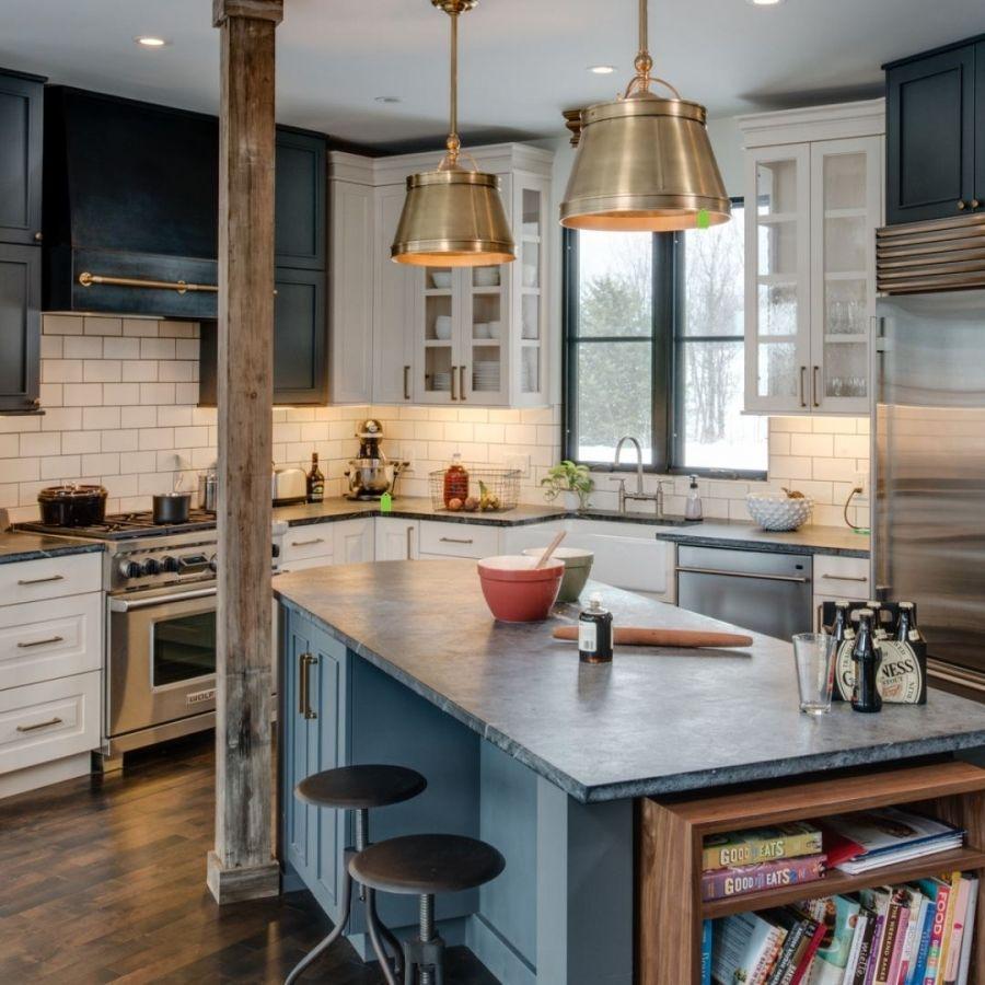 Küchenideen 2018 mit insel küche die auf einem budget und den besten ideen umbaut in