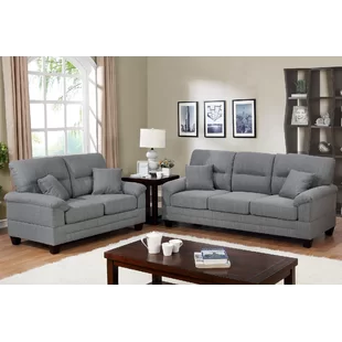 Astoria Grand Varnell 3 Piece White And Silver Embossed Fabric Standard Living Room Set In 2020 Sofa Loveseat Set Living Room Sets Sofa Set
