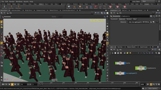 This is a quick start tutorial for Houdini, a 3D animation and VFX