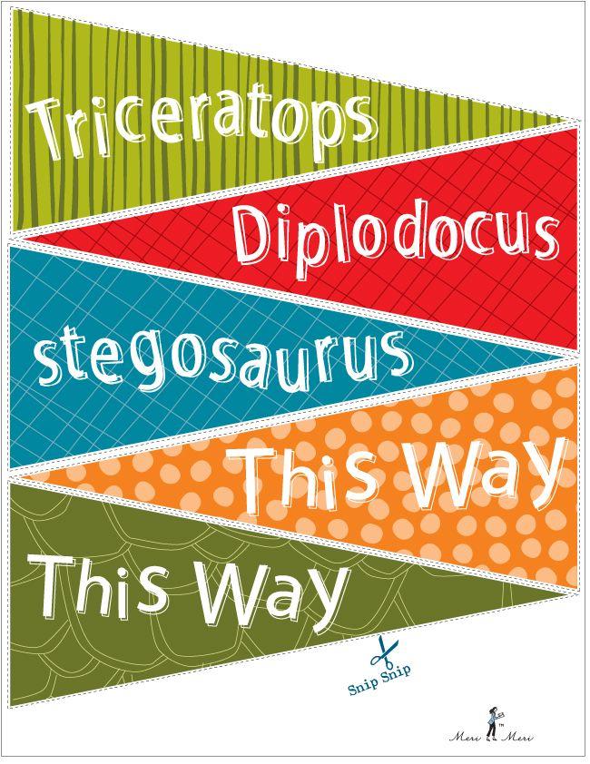 DINOSAURRRRRR PARTY merimericom Blog Dinosaur party